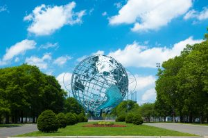 1964 New York World's Fair Unisphere in Flushing Meadows Park